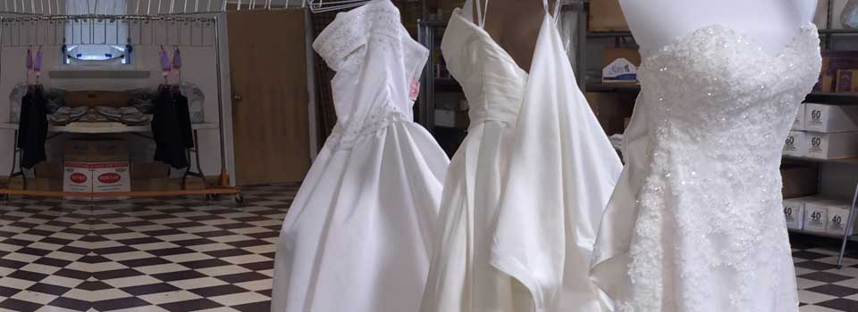 wedding gown cleaning preservation
